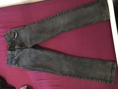2 pairs boys jeans. 1 Next, standard fit, I river island super skinny. age 6