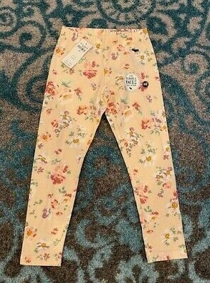 *NWT* ABERCROMBIE Youth Girls Light Pink Floral Leggings, Size Girls 5/6