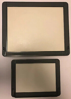 """2x Paterson Single Format Easel Printing Frames 8x10"""" & 5x7"""" Developing Darkroom"""