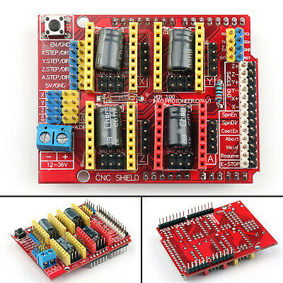 Engraver 3D Printer New CNC Shield Expansion Board A4988 Driver For V3  T5