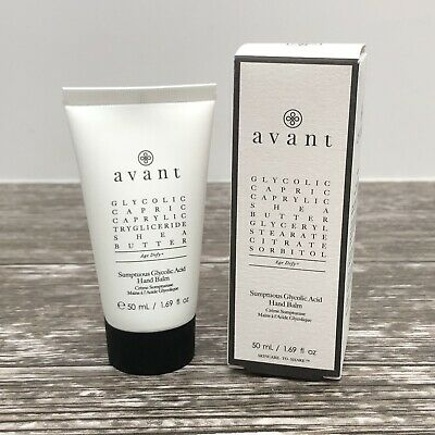 Avant Skincare Sumptuous Glycolic Acid Hand Balm 50ml RRP£92 Brand New In Box