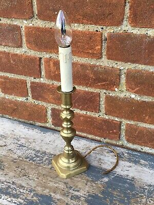 Old Vintage Brass Lamp for restoration