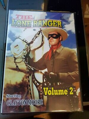 The Lone Ranger Volume 2 dvd. NEW, SEALED.   d