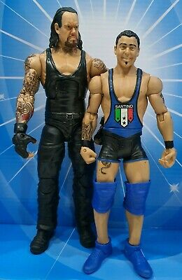 Wwe Mattel Basic Series The Undertaker And Santino Marella Figures Set Of 2