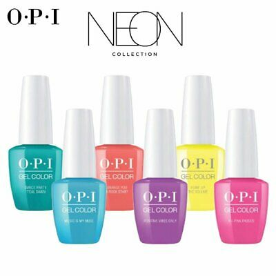 OPI GELCOLOR - NEON COLLECTION 2020 - 15ML. COLECCION NEON 6ud.