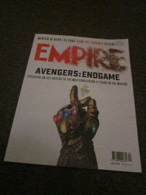 Empire magazine, April 2019--Avengers: Endgame cover