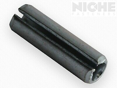 Slotted Spring Pin 3/8 x 1-1/4 HCS ZC (75 Pieces)