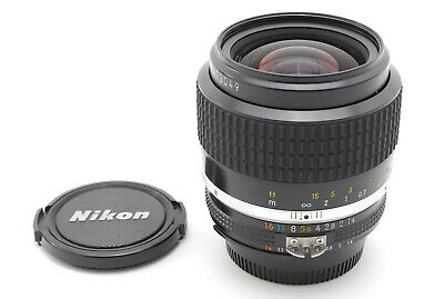 【N MINT】Nikon Nikkor Ai-s Ais 35mm f/1.4 Wide Angle Camera Lens From JAPAN