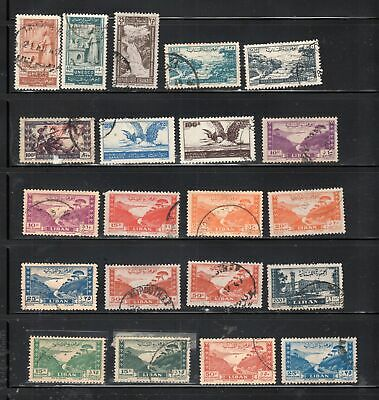 Liban Lebanon Middle East Stamps  Used   Lot 10859