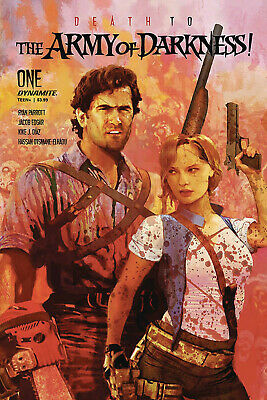 Death To Army Of Darkness #1 Suydam Variant Dynamite Indy Comics Ash Horror