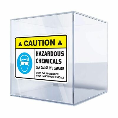Decals Sticker Warning Rotating Shaft Can Cause Severe st5 X8577