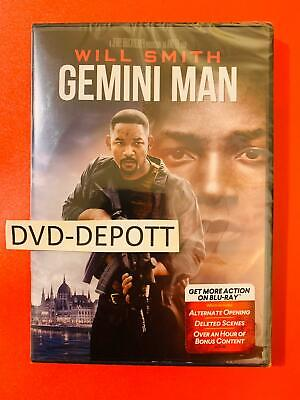 Gemini Man 2019 DVD {{AUTHENTIC READ LISTING}} Brand New FAST Free Shipping