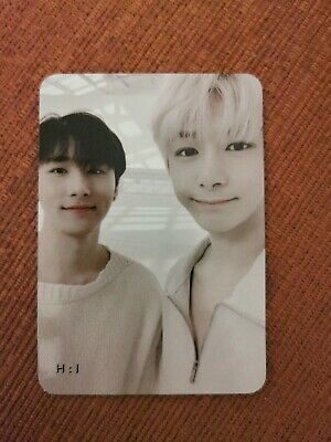Monsta X Photocard i.m Hyungwon unit photocard