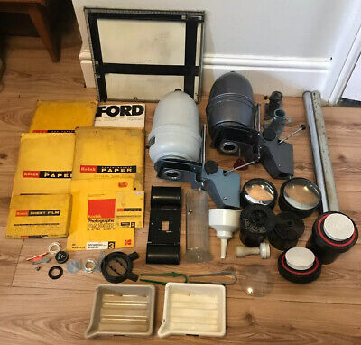 Large Job Lot Vintage Photography Developing Darkroom Enlargers & Accessories