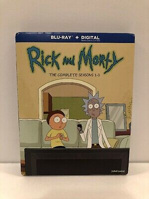 Rick and Morty: The Complete Seasons 1-3 Blu-ray (No Digital Copy)