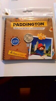 2019 Paddington At The Tower 50P Bunc In Royal Mint Pack