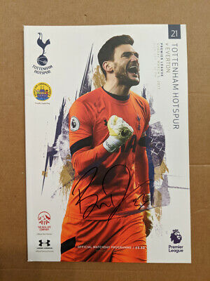 Tottenham Hotspur 2016/17 Program Signed By Ben Davies