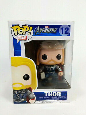 Funko Pop! Marvel Avengers Thor 12 Vinyl Figure Vaulted Retired Discontinued