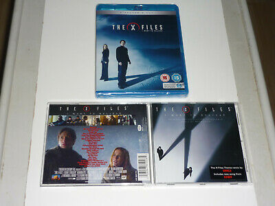 X-Files I WANT TO BELIEVE SEALED BLU RAY + BONUS MOTION PICTURE SOUNDTRACK CD