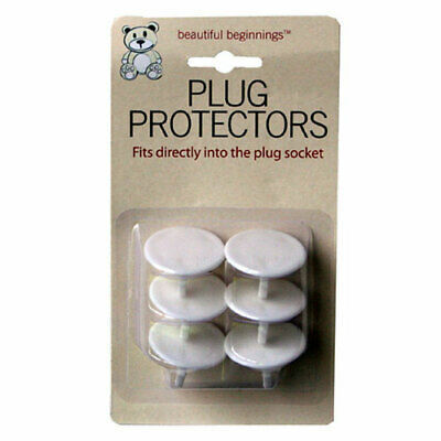 Plug Socket Covers Babies Children's Safety Protector for UK 3 Pin Sockets