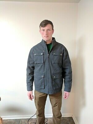 Land/'s End 432352 Men/'s MENS Wool Jacket SIZE XXL 2XL 50-52 Black NEW WITH TAGS