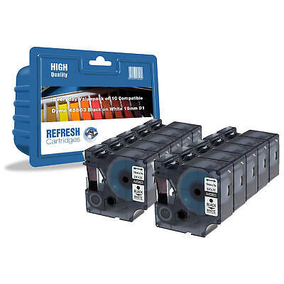 Refresh Cartridges Rouleaux 2093098 Compatible avec Dymo Étiquette Imprimantes