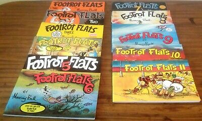 Footrot Flats Comic Books, Numbers1,2,3.4.5.6.7.8.9.10.11 in Excellent Condition
