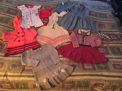 Girl's size: 2T lot of clothes and accessories- 15 items- excellent Condition-