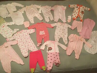Newborn girls 30 items of Clothes- Great Condition!