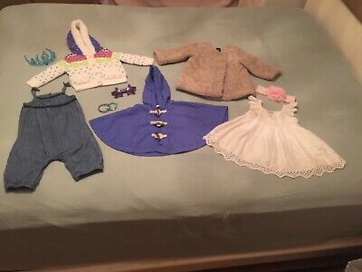 Girls 10 items of clothes and accessories, Sz: 6-18 months. Excellent condition!