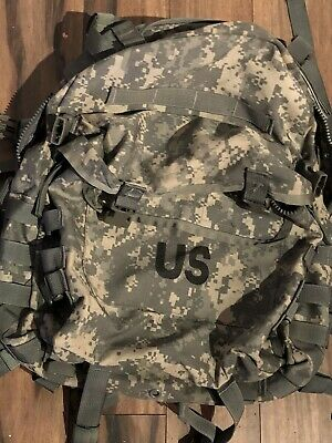 US Military GOV Issue MOLLE II  Assault Back Pack ACU Bug Out Bag Genuine Army
