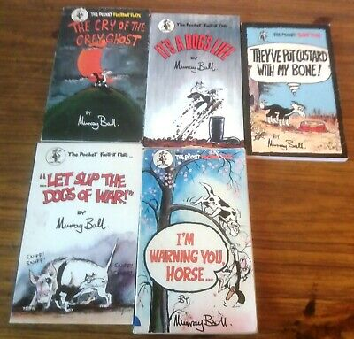 Full Set of 5 Footrot Flats Pocket Edition Books Good Condition by Murray Ball