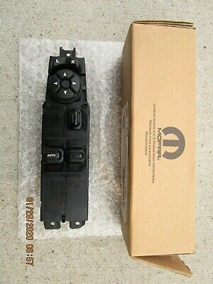 03 - 08 Dodge Ram 1500 2500 2D Cab Front Lh Side Master Power Window Switch New