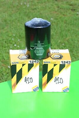 NAPA GOLD 1243 Oil Filter   Wix 51243  ***LOT OF 2***