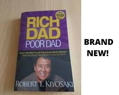 Rich Dad Poor Dad By Robert T. Kiyosaki Top Seller Book NEW