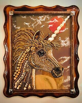 Jewelry Framed Unicorn Art Decor Gift
