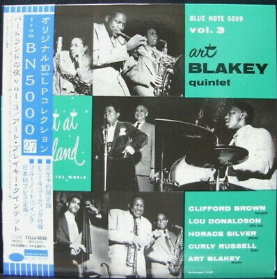 "10"" ART BLAKEY AT BIRDLAND VOL.3 BLUE NOTE TOJJ 5039 OBI MONO Japan Vinyl LP"