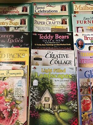24 Plaid Decorative Painting Books Donna Dewberry Mary McCullah Peggy Boyd &more