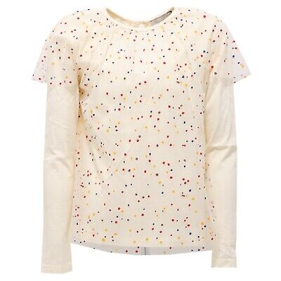 2342AB maglia bimba GIRL STELLA McCARTNEY KIDS t-shirt multicolor dots