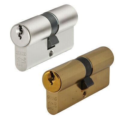 ABUS Double Euro Cylinder 3 Star High Security Anti Snap Locks