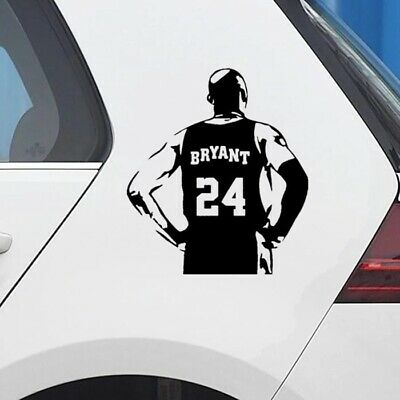 KOBE BRYANT #24 LA Lakers NBA Basketball Vinyl Decal Sticker Bumper Car