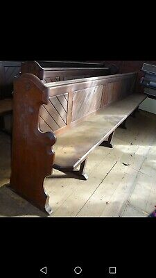 Original 19th Century Church Pew/Bench