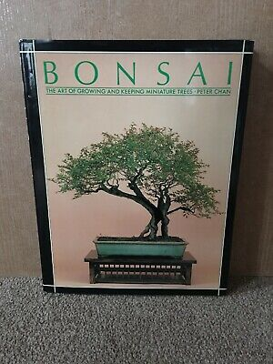 Bonsai Book The Art of Growing and Keeping Miniature Tree Hardback PETER CHAN
