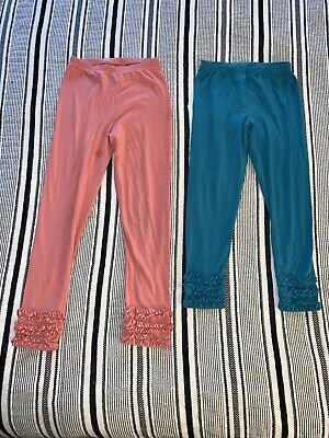Girls Size 10 PERSNICKETY Leggings Lot Of 2