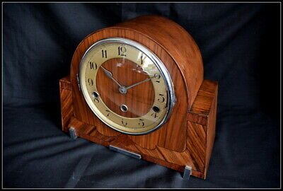 Art Deco Mantel Clock. Haller