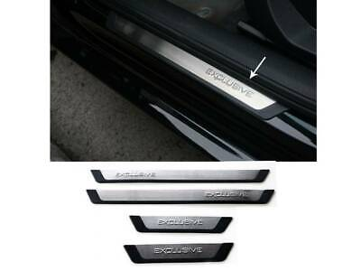 Ford S-Max 2016 +Flexill Exclusive Door Sill Plates Aftermarket Part 9696091Fx