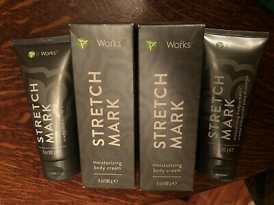 It Works Stretch Mark Cream 4 Tubes 6 Oz 180 Ml All Sealed And