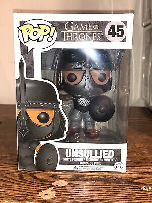 Funko POP! Vaulted The Unsullied Soldier Game of Thrones Vinyl Figure #45