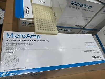 Applied Biosystems MicroAmp 96 Well Tube/Tray/Retainer Assembly 20/Pack 403083