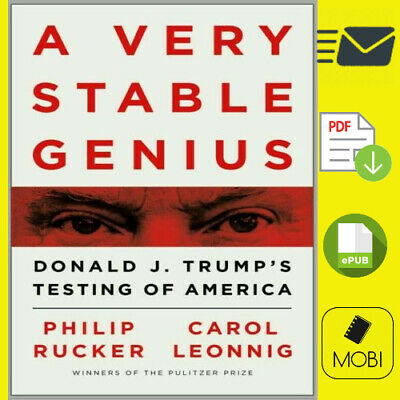 🔥A Very Stable Genius: Donald J. Trump's Testing of America🔥P.D.F🔥Us Seller🔥